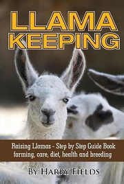 Llama Keeping book written by Harry Fields