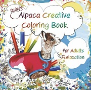 Rubys Alpaca Creative Coloring Book