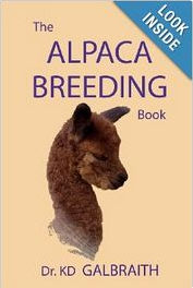 The Alpaca Breeding book written by Dr. KD Galbraith