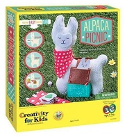 Alpaca Picnic Sew Craft Kit