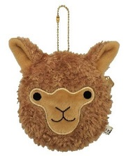 Cute Alpaca Face Coin Purse for sale at PurelyAlpaca